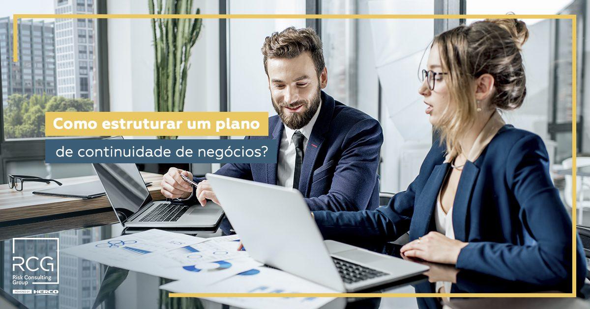 Como estruturar um plano de continuidade de negócios?